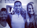 Kyree Terrell and Elisa O'Keefe Smith at LA Web Fest